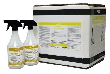 READY LEMON DISINFECTANT Website